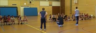 Terugblik op de handbal clinics bij basisschool de Arcade