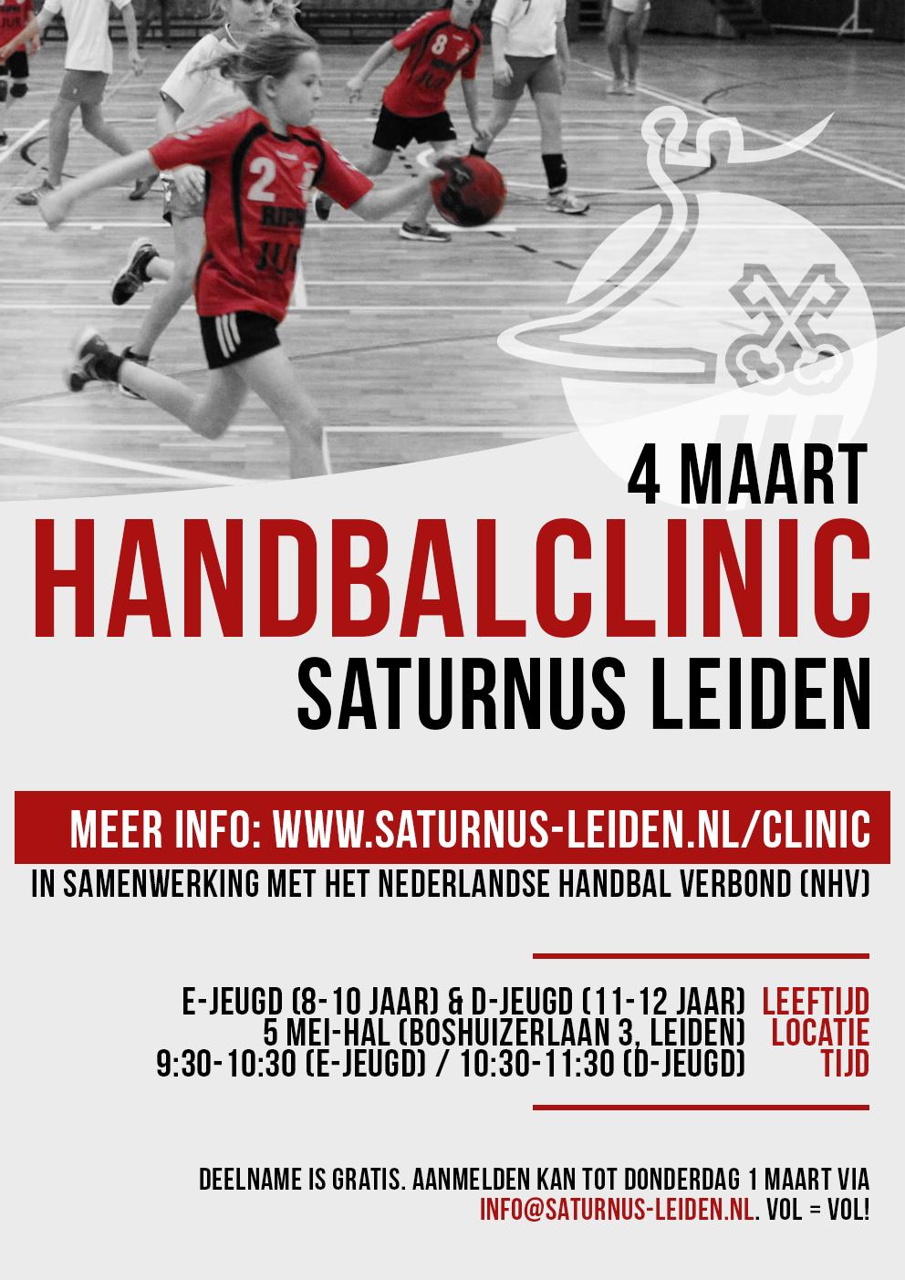 Handbalclinic 2018
